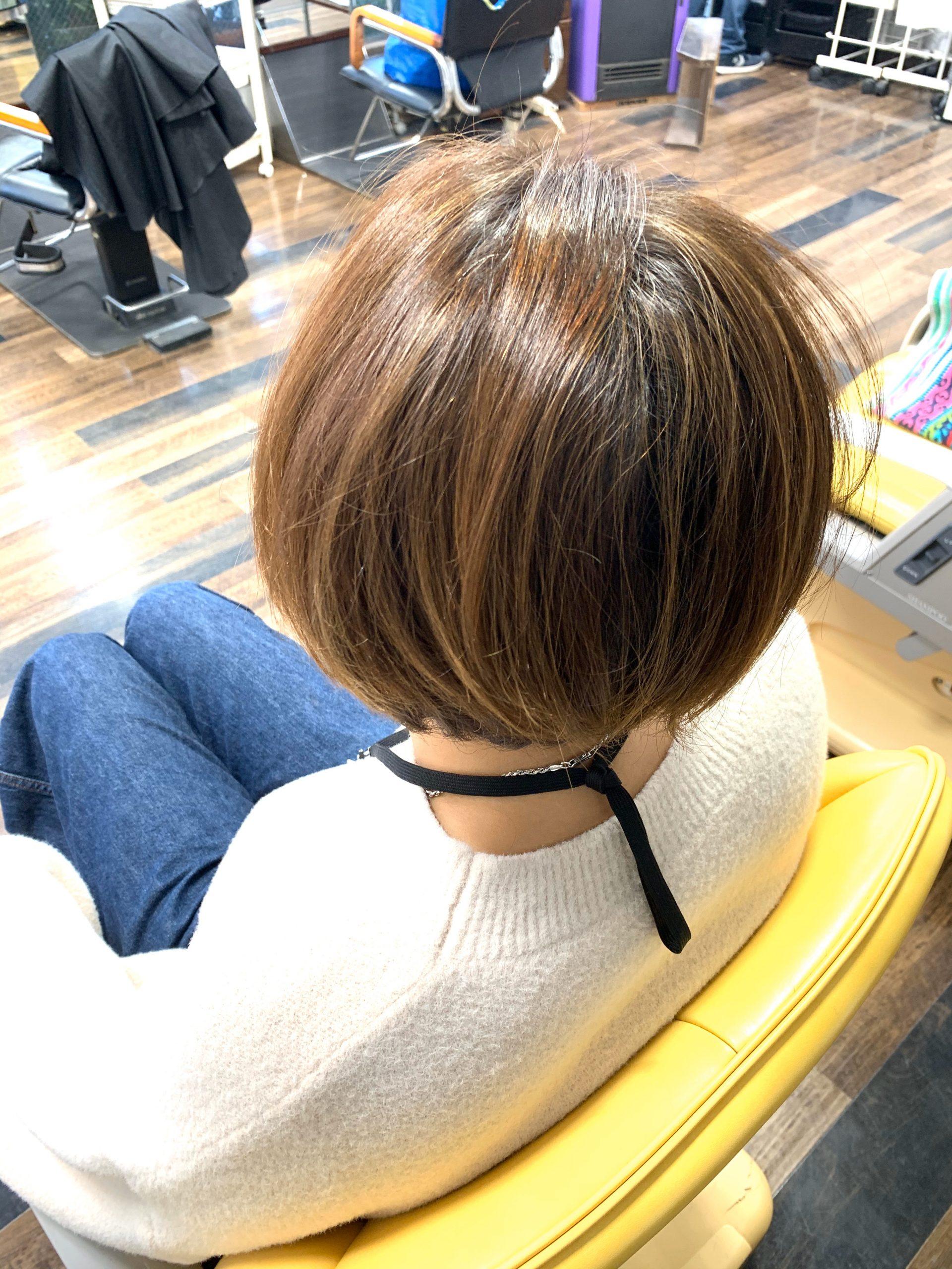 横浜大倉山美容院ヘアカラー上手い