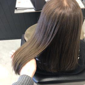 スロウカラー・アッシュベージュ・白髪