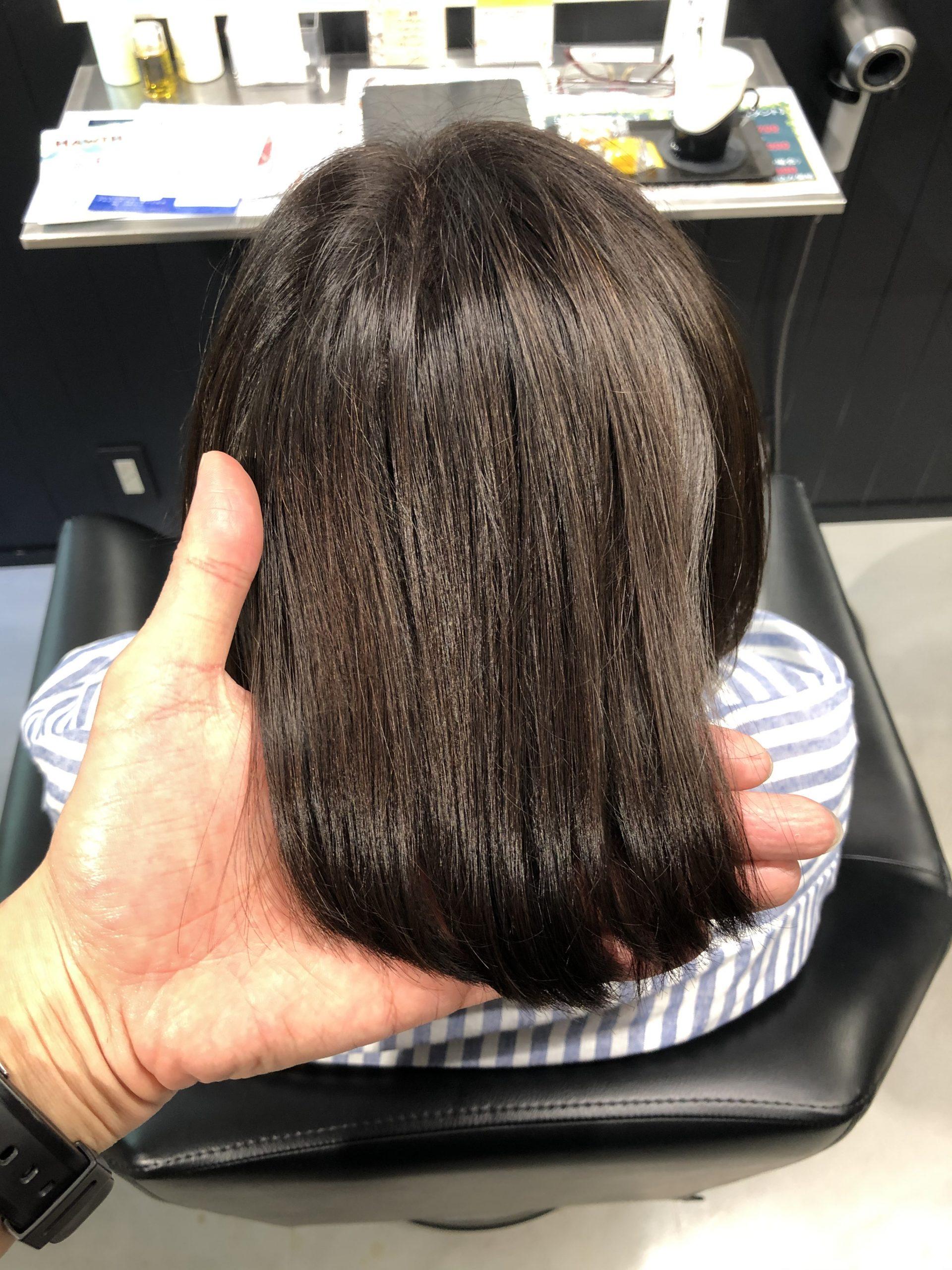 【マージ検証・白髪】スロウ・マージのアッシュブラックで白髪染めをしたらこうなった!?