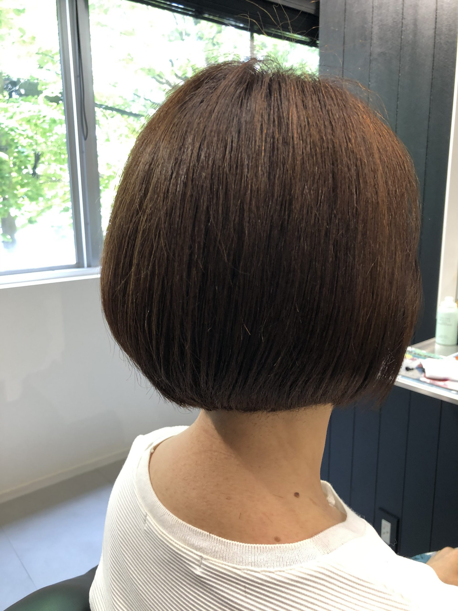【白髪にティントバー】エイジング毛にヒロインベージュ+メルティブラウンがオススメ♪