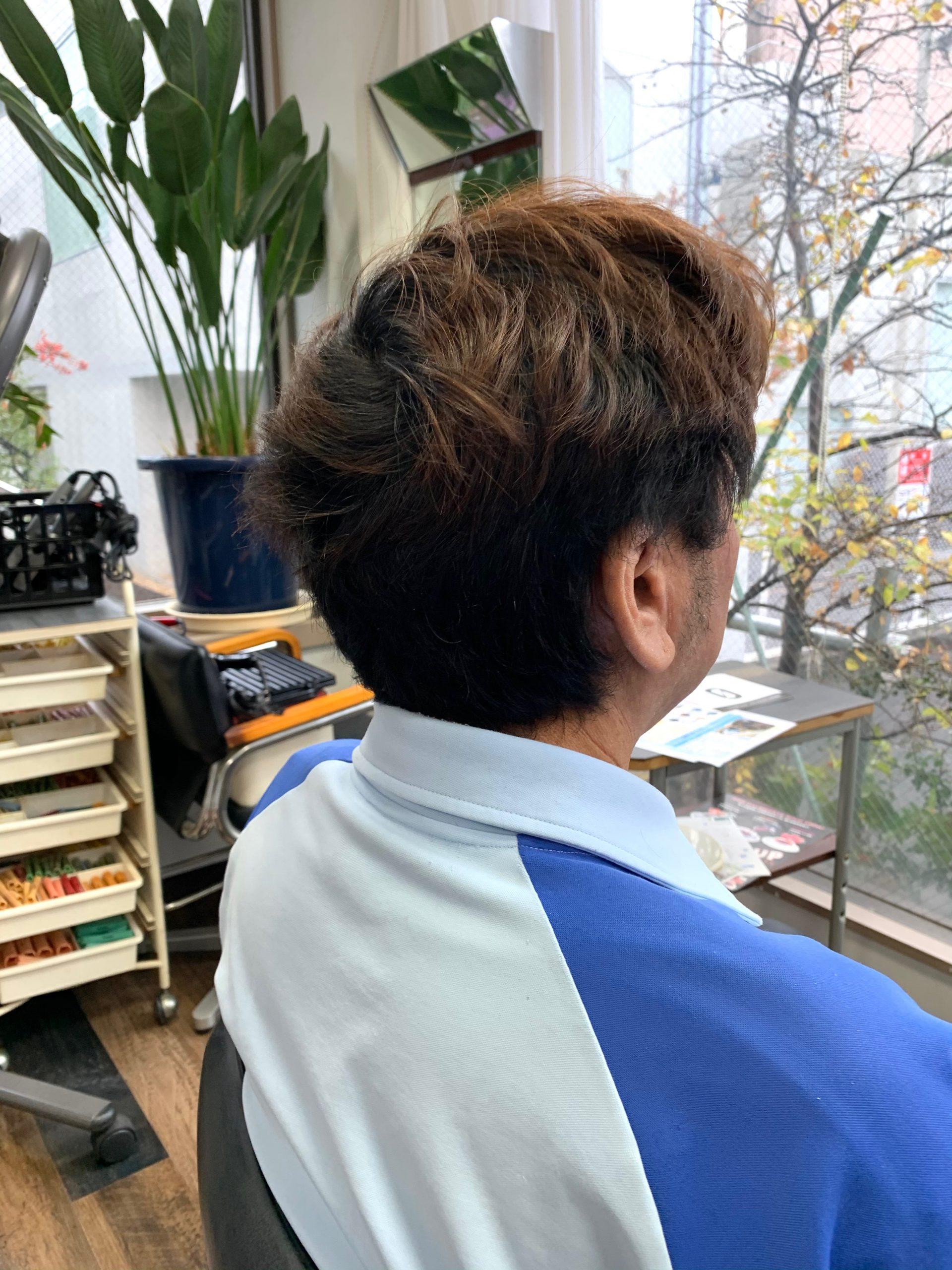 神奈川横浜美容室ツイストパーマ上手い